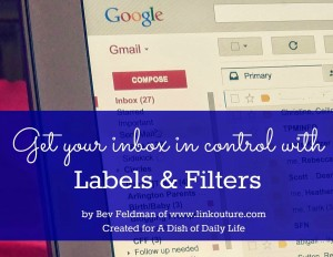 Take control of your inbox with labels and filters