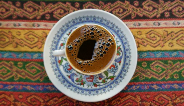 Drinking a Turkish coffee is something everyone should experience in Istanbul at least once!