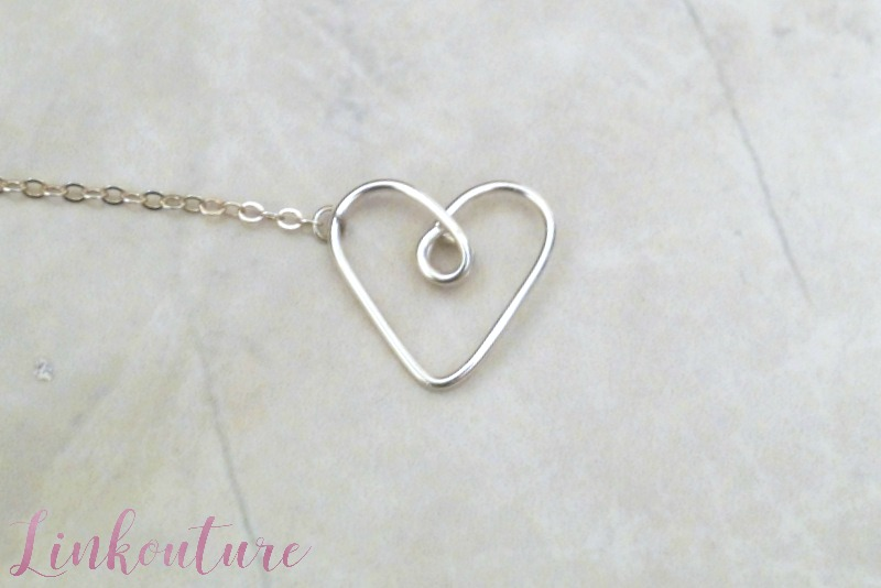 Learn how easy it is to make your own necklace featuring a handmade heart charm