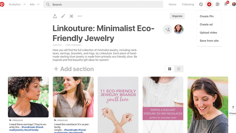 How to drive traffic to your ecommerce store with Pinterest