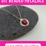 pink freshwater pearl necklace free tutorial