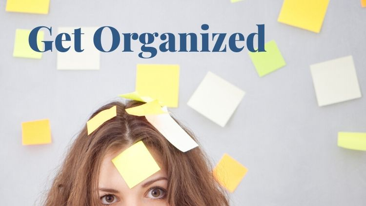 The get organized is a workshop for disorganized creatives. Click to learn more.